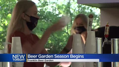 Beer garden season begins at Franklin's Croatian Park